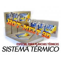 Láminas Encuadernación Térmica 21x22 Cm 250 Gr.