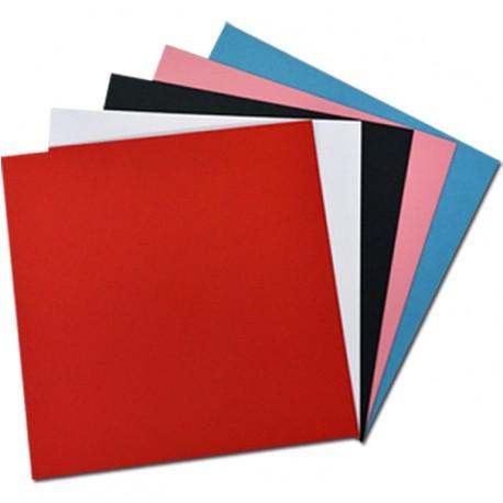 Láminas Encuadernación Térmica 10x20 Cm 280 Gr. Color