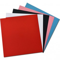 Láminas Encuadernación Térmica 16x17 Cm 280 Gr. Color